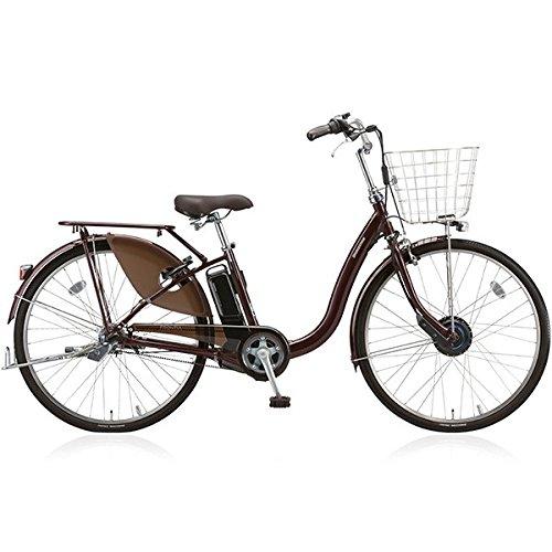 BRIDGESTONE(ブリヂストン) 18年モデル フロンティアデラックス F6DB38 26インチ 電動アシスト自転車 専用充電器付 B076S4F16F F.Xカラメルブラウン F.Xカラメルブラウン
