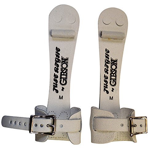 Gibson Athletic Single Buckle Just Right Uneven Bar Grips, Gymnastics, Girls