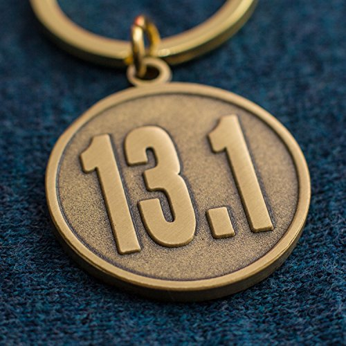 Half-marathon Runner's Gift - 13.1 Keychain - Unique Gift for a 13.1 Finisher - Men and Women Love This Idea to Celebrate the Accomplishment of Their First Time Running or -