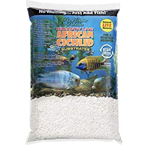 Pure Water Pebbles African Cichlid Bio-Activ Natural White Aquarium Live Sand