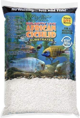 Pure Water Pebbles African Cichlid Bio-Activ Natural White Aquarium Live Sand