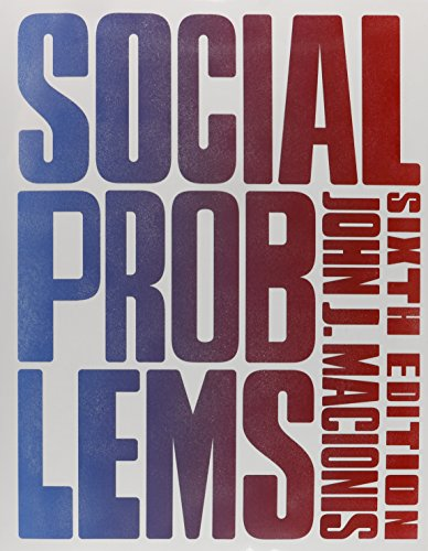 013390959X - Social Problems (6th Edition)