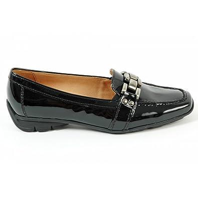 4ae79e5106683 Gabor Clico 35.334.97 black patent hovercraft sole loafer BLACK PATN ...