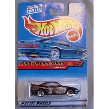 Hot Wheels 2000 Kung Fu Force Series Toyota MR2 1/4 #033 #33 BLACK