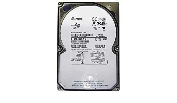 Seagate ST318437LW Product Manual