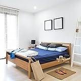KAGURA BAMBOO Bedside Caddy Bunk Bed Shelf
