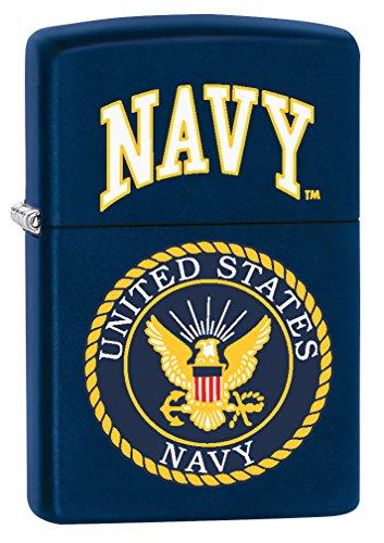 Zippo Lighter: United States Navy Logo