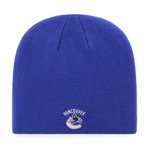 OTS NHL Vancouver Canucks Beanie Knit Cap, Royal, One Size