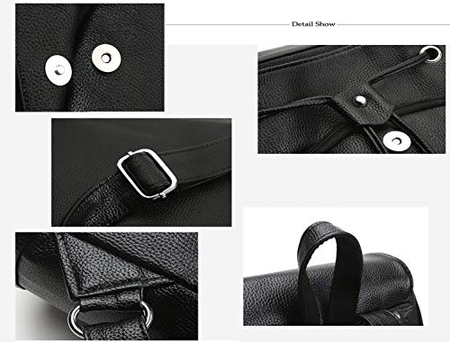 Amazon.com | PU Leather Backpack For Women Lightweight Cute Mini Backpack For Women Fashion School Waterproof | Backpacks
