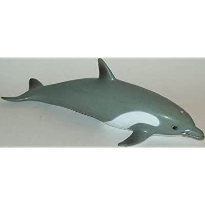 "Phil Seltzer Dolphin-Lifelike Rubber Replica Play Set, 9"": Toys & Games"