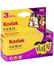 Kodak 6033971 Gold 200 film (paars/geel) – 3 rollen – 24 belichting per rol