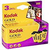Kodak 6033971 Gold 200 Film (Purple/Yellow)