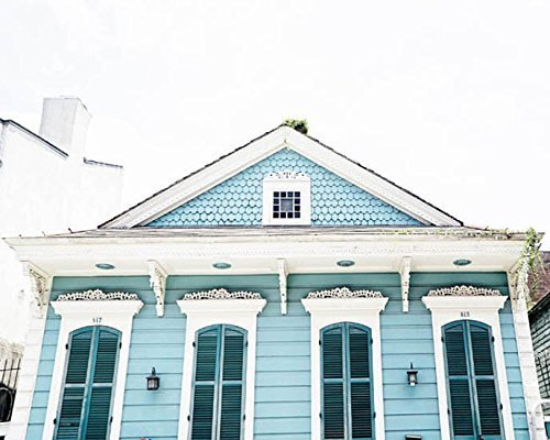 Fine Art Photography New Orleans - New Orleans Photography French Quarter Architectural photo 5x7 inch Print