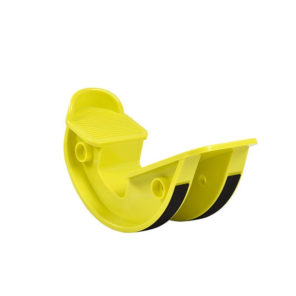 Foot Rocker - Calf Stretcher for Achilles Tendinitis, Heel, Feet, Shin Splint, Plantar Fasciitis Pain Relief - 2 PCS,Yellow