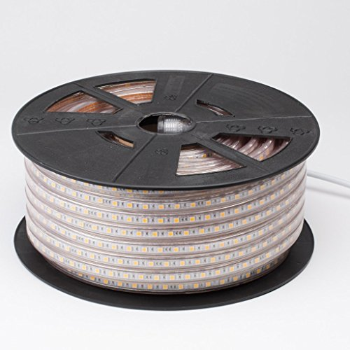 120v Lighting Designer (Lumilum 120V LED Strip Light 5500K - 165ft Roll - Commercial Grade - ETL Indoor/Outdoor Rated - Dimmable)