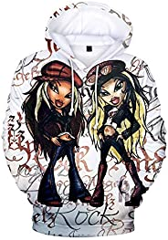 WAWNI Bratz Rock Angelz 3D Hoodie Sweatshirts Girl Women Pullover