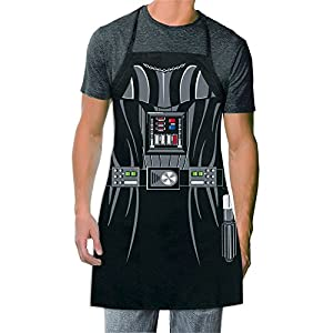 ICUP Star Wars – Darth Vader Be The Character Adult Size 100% Cotton Adjustable Black Apron