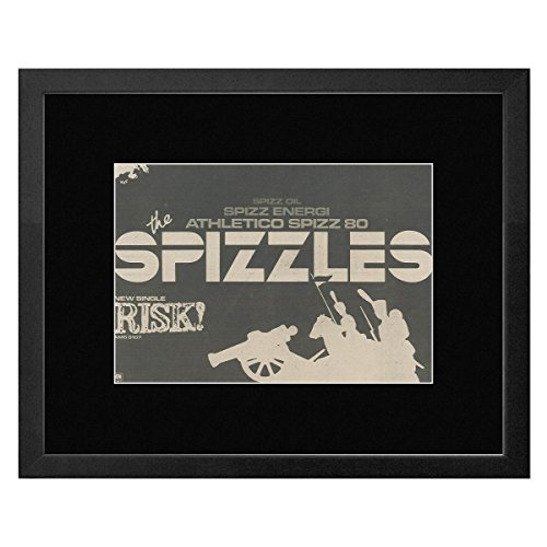 The Spizzles - Risk! Framed Mini Poster - 33.5x44cm (Spizzle Sticks)