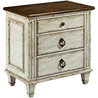 Southbury Fossil and Parchment Nightstand