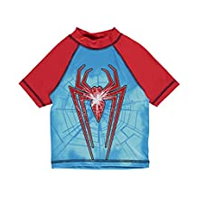 "Spider-Man Little Boys' ""Cracked Web"" Rash Guard"
