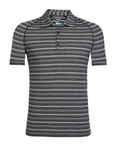 Icebreaker Merino Men's Cool-Lite Sphere Short Sleeve Polo T-Shirt