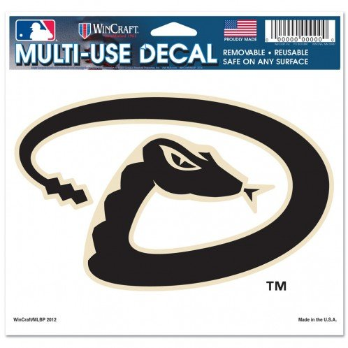 Wincraft MLB Arizona Diamondbacks Multi Use Decal (2 Pack)