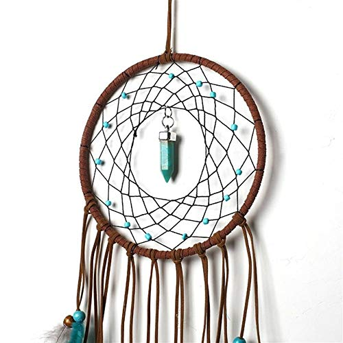 DUOER-wind chimes Handmade Dream Catcher Feather Colorful Living Room Garden Hanging Pendant Home Car Hanging Decor Dream Catcher Ornament (Color : Style 1) by DUOER-wind chimes (Image #4)