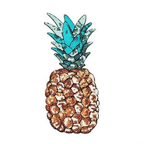 atch for Clothes Applique Craft DIY Accessories (Pineapple) ()