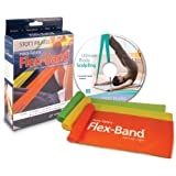 Stott Pilates 3-Pack Non-Latex Flex-Band with Dvd from Stott Pilates