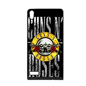 Generic Printing With Guns N Roses For Huawei P6 Silicone Hard Plastic Back Phone Covers For Children Choose Design 1