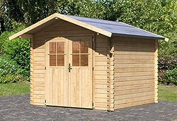Gartenhaus Mit Fußboden Und Dach ~ Karibu gartenhaus ringsheim sparset inkl fußboden außenmaß b x
