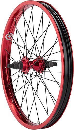 "Salt Everest Cassette Rear Wheel 20"" 9t Driver 14mm Axle Red"