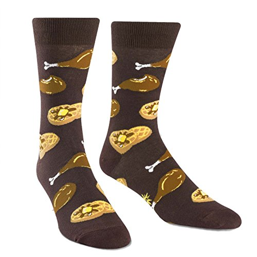 Sock It to Me, Mens Crew, Food (Chicken + Waffles) for sale  Delivered anywhere in USA