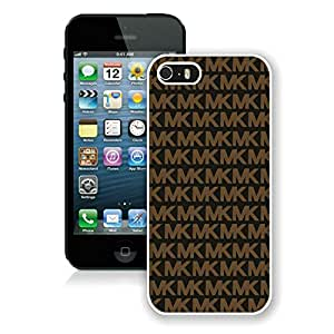Fashion Custom Designed NW7I 123 Case M&K White iPhone 5s Generation Phone Case For Cell Phone Case A1 011