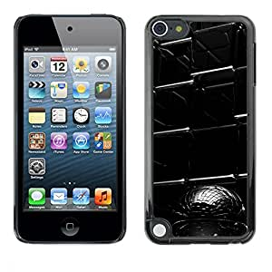 LECELL -- Funda protectora / Cubierta / Piel For Apple iPod Touch 5 -- Abstract Cube --