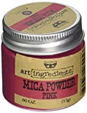 Prima Marketing AIMP-62456 Finnabair Art Ingredients Mica Powder, 0.6 oz, Pink