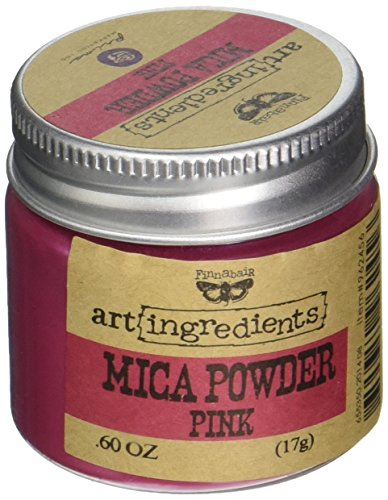 Prima Marketing AIMP-62456 Finnabair Art Ingredients Mica Powder, 0.6 oz, Pink by Prima Marketing