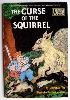 (CURSE OF THE SQUIRREL (A Stepping Stone Book(TM)))