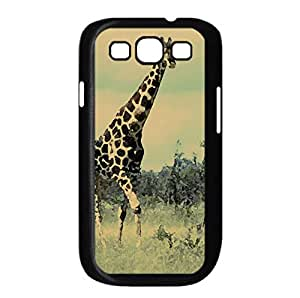 Giraffe - Etosha (Namibia) Watercolor style Cover Samsung Galaxy S3 I9300 Case (Wild Watercolor style Cover Samsung Galaxy S3 I9300 Case)