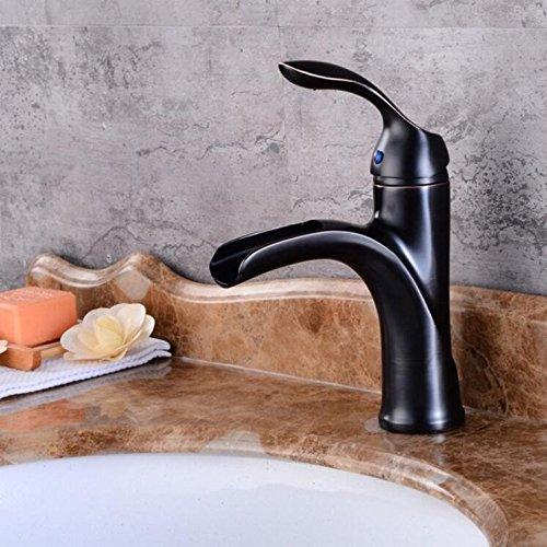 Decorry Neues Design Antique Messing Wasserhahn Gebürstetem Nickel Bad Wasserhahn Schwarz Und Chrome Waschtisch Wasserhahn Xt507, B