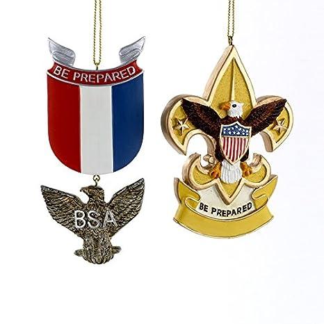 Amazoncom Boy Scouts Of America Eagle Badge And Fleur De Lis