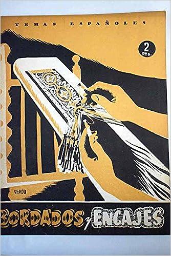 Bordados y encajes Paperback – 1953