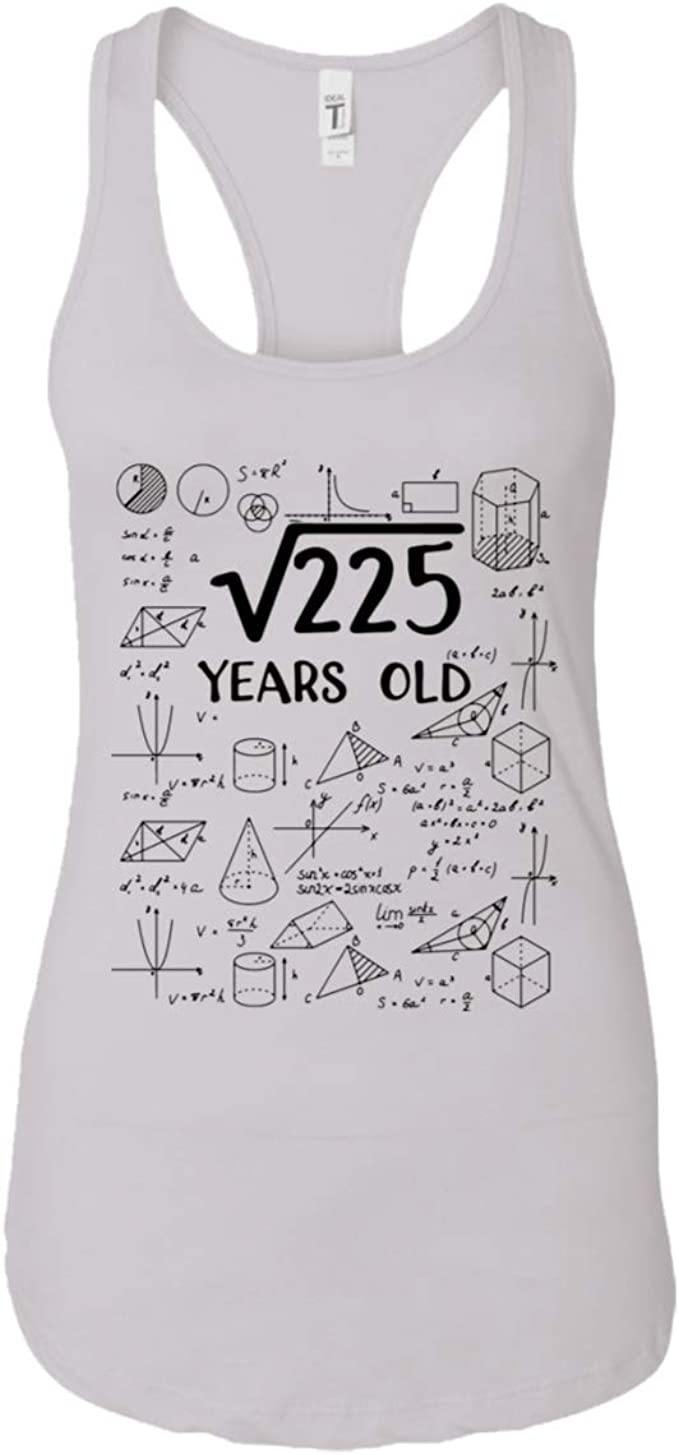 Hhlstore Square Root Of 225 15 Years Old Shirt 15th Birthday Gift Amazon Com The square root of 225 is 15, both the perfect square 225 and its square root 15 has the unit digit as 5. amazon com