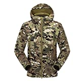 Uglyfrog New Outdoor Sports Men Autumn&Winter Soft Shel Shark skin Camouflage Warm-Keeping Jacket Water-proof Hardshell F101
