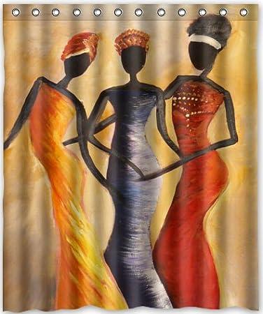 60u0026quot;(w) X 72u0026quot;(h) Afro American Women Theme Print