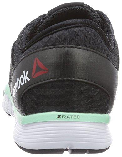 mint Schwarz Glow white Multisport Reebok 3 Noir Chaussures 0 Zquick Indoor black Femme Tr HOqzwPOf