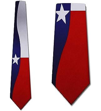 Corbata De Los Hombres Corbata,Corbata De La Bandera De Texas ...