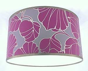 Pantalla para lámpara hecha a mano 41cm - Harlequin Cerise Dorado
