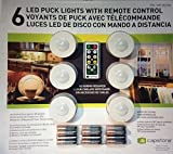 Capstone 6 LED Puck Lights w/ Remote Control plus Batteries Wireless One Touch ..#from-by#_ak226trading it#26112103702926