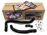HPS 57-1021-BLK Black Silicone Radiator Coolant Hose Kit